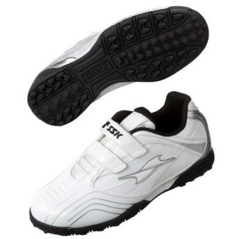 (セール)SSK(エスエスケイ)野球 トレーニングシューズ トレーニングシューズ SPCTR002W ボーイズ WHITE