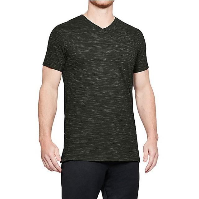 (セール)UNDER ARMOUR(アンダーアーマー)メンズスポーツウェア 半袖機能Tシャツ UA SPORTSTYLE CORE V NECK TEE 1306492 357 メンズ 357