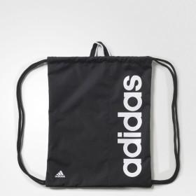 adidas(アディダス)スポーツアクセサリー ナップサック リニアジムバッグ MII12 AJ9970 NS ブラック/ブラック/ホワイト