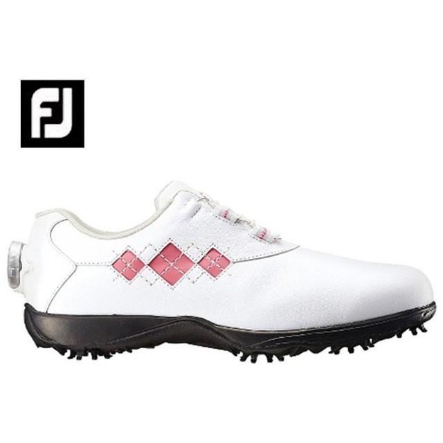 フットジョイ FootJoy ゴルフシューズ ソフトスパイク ゴルフスパイク レディース eComfort Boa イーコンフォート 98531W
