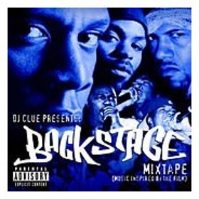 DJ Clue Backstage Mixtape (Compiled By DJ Clue) [PA] CD