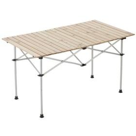 (セール)(送料無料)COLEMAN(コールマン)キャンプ用品 ファミリーテーブル ナチュラルウッドロールテーブル120 2000031291