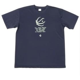 (セール)CONVERSE(コンバース)バスケットボール メンズ 半袖Tシャツ プリントTシャツ CB261311-2900 メンズ ネイビー