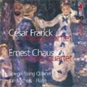 Jan Michaels Franck: Piano Quintet; Chausson: Piano Quartet Op.30 CD