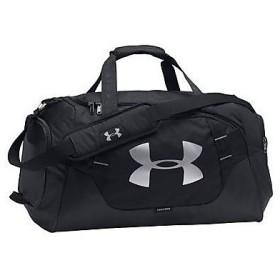 (セール)UNDER ARMOUR(アンダーアーマー)スポーツアクセサリー ボストンバッグ 19S UA UNDENIABLE DUFFLE 3.0 MD 1300213 001 ONESIZE BLK/BLK/SIL