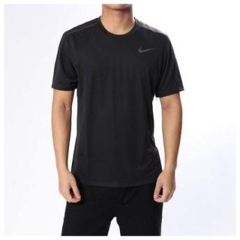 ナイキ NIKE メンズ 陸上/ランニング 半袖Tシャツ マイラー テック S/S トップ 928308010 (ブラック)