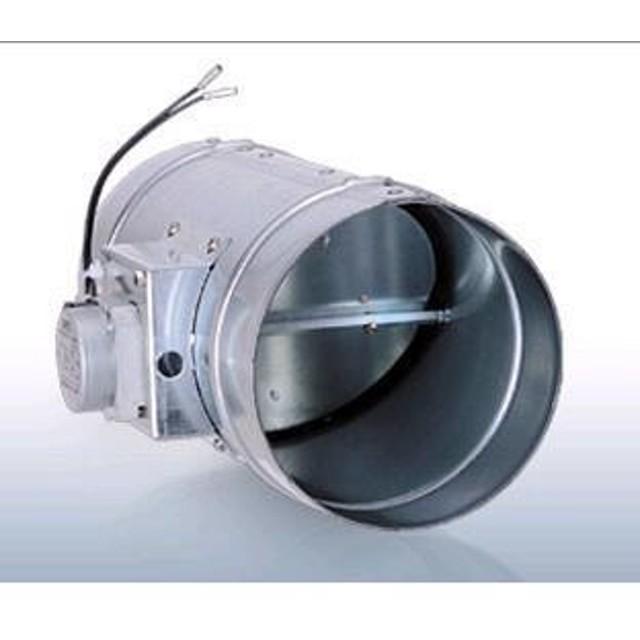 西邦工業 ダンパー 電動 鋼板製モーター 開閉式 フューズ無し 2線式【MRD150】※受注生産品 [♪■§]