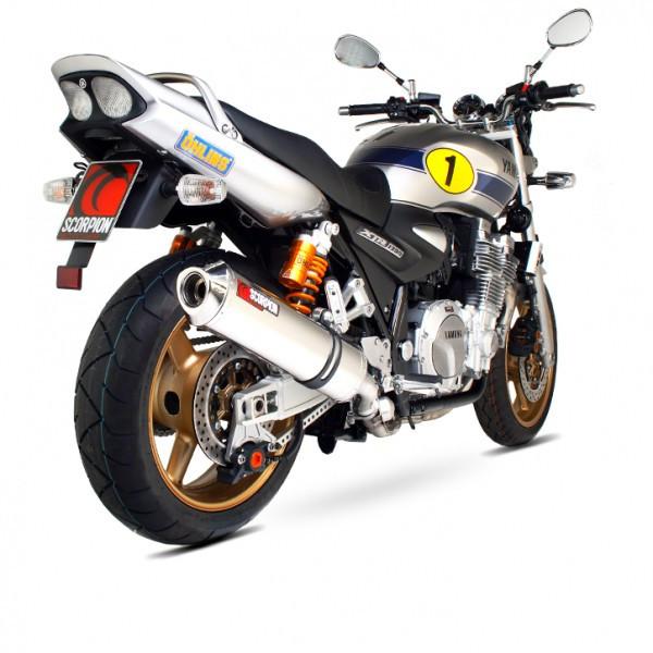 Scorpion Kawasaki ZX7 R 96-03 Stainless Steel Factory Exhaust
