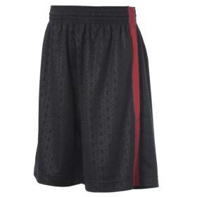 s.a.gear(エスエーギア)バスケットボール メンズ プラクティスショーツ バスケットエンボスプラショーツ S13-52-013 BLK/RED メンズ BLACK/RED