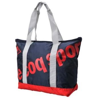 (セール)le coq(ルコック)スポーツアクセサリー ポケッタブル アイテム コンパクトトートバッグ QA-670245 F NVY