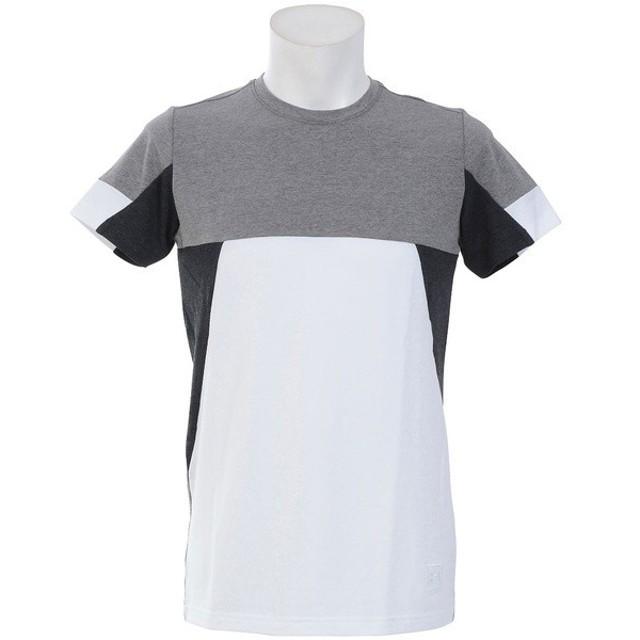 (セール)UNDER ARMOUR(アンダーアーマー)メンズスポーツウェア 半袖機能Tシャツ UA SPORTSTYLE COLORBLOCK TEE 1310572 100 メンズ 100