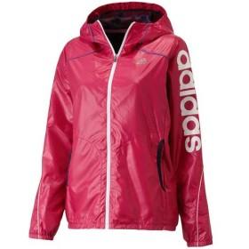 adidas(アディダス)レディーススポーツウェア ウインドアップジャケット AT リニアウインドフーディジャケット WD462 F45481 レディース PINK