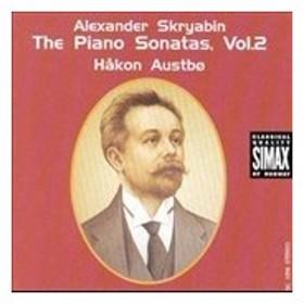 ホーカン・アウストボ Alexander Skryabin: The Piano Sonatas, Vol.2 CD