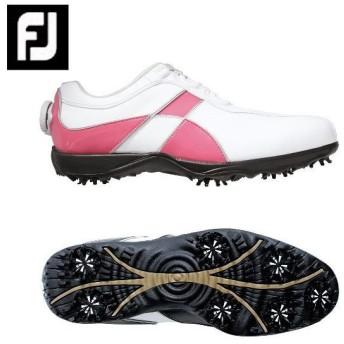 フットジョイ Foot Joy ゴルフシューズ ソフトスパイク ゴルフスパイク レディース eComfort Boa 98662
