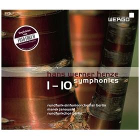 マレク・ヤノフスキ ハンス・ヴェルナー・ヘンツェ: 交響曲全集(全10曲)<完全限定生産盤> CD