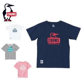 チャムス CHUMS  半袖シャツ ジュニア Kid's Booby Face T-Shirt キッズブービーフェイスTシャツ CH21-1051