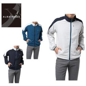 アルバトロス ALBATROSS ゴルフウェア スウェット メンズ 4WAYストレッチブルゾン 8150-8033
