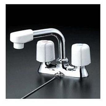 ◆在庫有り!台数限定!KVK 水栓金具【KM17NSGS】洗面用2ハンドル混合栓