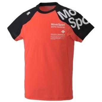(セール)DESCENTE(デサント)メンズスポーツウェア 半袖機能Tシャツ BRZ+ ハーフスリーブシャツ DAT-5728 SORG メンズ SORG