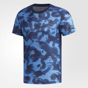 (セール)adidas(アディダス)メンズスポーツウェア 半袖機能Tシャツ M4T ブラッシュカモTシャツ EUC81 CX3534 メンズ カレッジネイビー