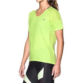 (セール)UNDER ARMOUR(アンダーアーマー)レディーススポーツウェア Tシャツ UA ARMOUR SPORT SS 1292296 レディース PALE MOONLIGHT/PALE MOONLIGHT/G...