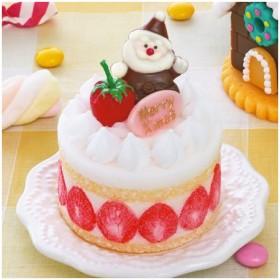 キャンドル クリスマスケーキ ケーキキャンドル ( クリスマスキャンドル スイーツキャンドル ろうそく ロウソク )
