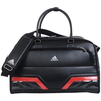 (送料無料)adidas(アディダス)ゴルフ メンズその他バッグ ケース シルバーロゴボストンバッグ AWU26-M72046 メンズ FREE ブラック/レッド