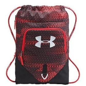 (セール)UNDER ARMOUR(アンダーアーマー)スポーツアクセサリー バッグパック UA UNDENIABLE SACKPACK 1261954 メンズ ONESIZE RED/BLACK/WHITE