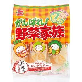 岩塚製菓 がんばれ野菜家族 6袋(1ケース)【クレジット決済のみ】(YB)