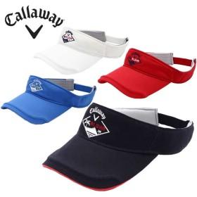 キャロウェイ ゴルフ サンバイザー メンズ ツイルバイザー 241-8184501 Callaway