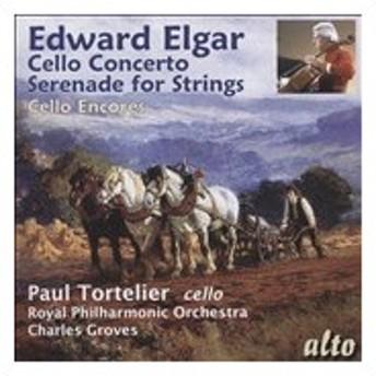 ポール・トルトゥリエ Elgar: Cello Concerto, Serenade for Strings, etc CD