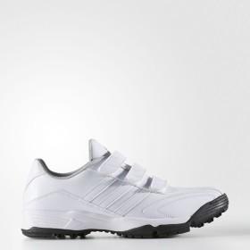 (セール)adidas(アディダス)野球 トレーニングシューズ アディピュアTR GUB62 F37768 メンズ クリスタルホワイト S16/クリスタルホワイト S16/ゴール...