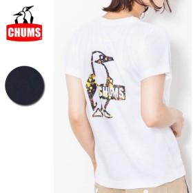 チャムス chums Booby Splatter T-Shirt Women's ブービースプラッターTシャツ ch11-1464 【レディース/Tシャツ/半袖/アウトドア】【メール便・代引不可】