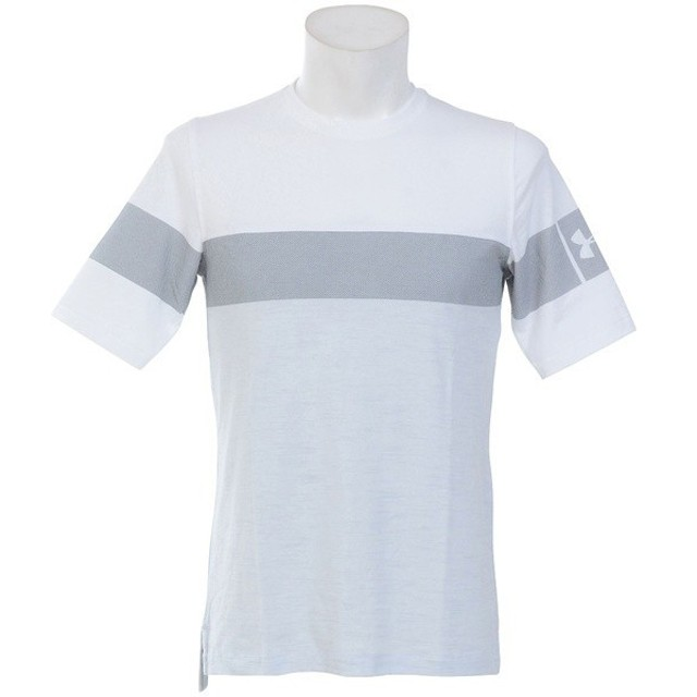(セール)UNDER ARMOUR(アンダーアーマー)メンズスポーツウェア 半袖機能Tシャツ UA SPORTSTYLE FOOTBALL TEE 1306494 100 メンズ 100