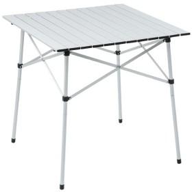 (セール)Alpine DESIGN(アルパインデザイン)キャンプ用品 ファミリーテーブル 2WAY アルミロールテーブル 70X70 AD-S16-402-034