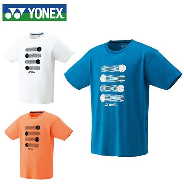3121b6f1548f1 ヨネックス テニスウェア バドミントンウェア Tシャツ 半袖 メンズ レディース スタンダードサイズ ドライTシャツ 16319