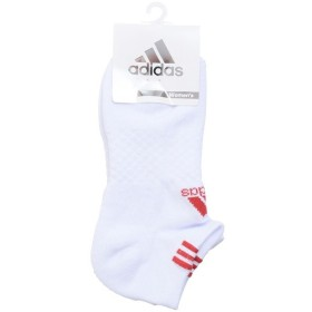adidas(アディダス)ゴルフ レディース アクセサリー CP ベーシックアンクルソックス CCS08-N68683 レディース FREE ホワイト/レッド