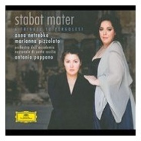 アンナ・ネトレプコ Stabat Mater - A Tribute to Pergolesi [CD+DVD]<特別限定盤> CD