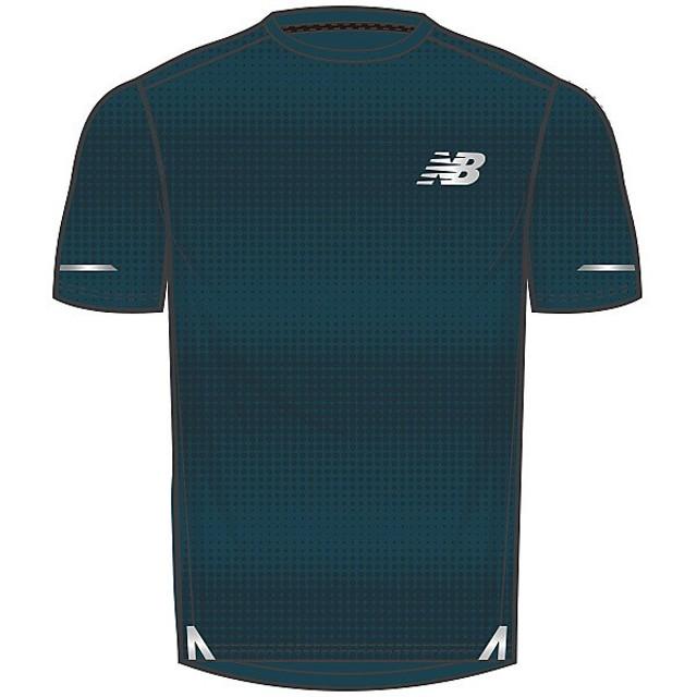 898562a0f1f75 送料無料)New Balance(ニューバランス)ランニング メンズ半袖Tシャツ D2Dラン