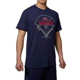 (セール)UNDER ARMOUR(アンダーアーマー)野球 半袖Tシャツ UA TECH SS WORDMARK FIELD 1295460 メンズ MIDNIGHT NAVY