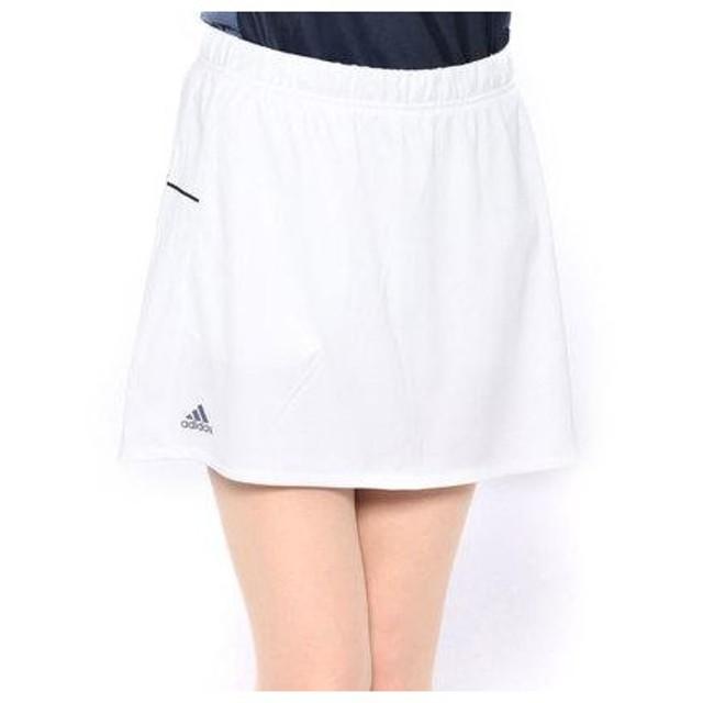 6d8727c26b7e5 アディダス adidas レディース テニス スコート WOMENRULE#9GAMEスコート CZ0578 (ホワイト)