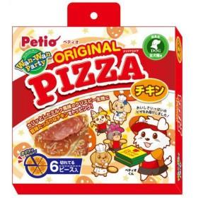 ペティオ Wan-Wan Party オリジナルピザ チキン 6ピース入