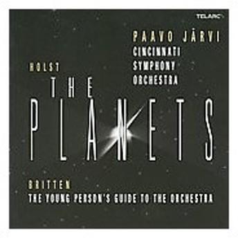 パーヴォ・ヤルヴィ Holst: The Planets Op.32; Britten: The Young Person's Guide to the Orchestra Op.34 / Paavo J CD
