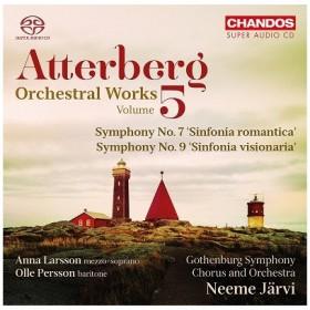 ネーメ・ヤルヴィ Atterberg: Orchestral Works Vol.5 SACD Hybrid