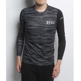 (セール)Number(ナンバー)ランニング メンズ長袖Tシャツ 長袖シャツ NB-F17-302-160 メンズ カモブラック/ブラック