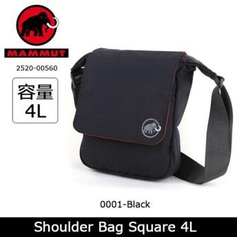 MAMMUT/マムート Shoulder Bag Square 4L 2520-00560 【カバン】 ショルダーバッグ 旅行 トラベル【メール便・代引不可】