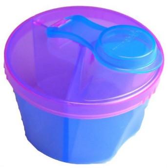 マンチキン 3回分の粉ミルクが入る フォーミュラディスペンサー 12333102 ブルー