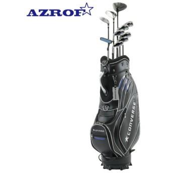 アズロフ AZROF 左用ゴルフセットクラブ メンズ CONVERSE×AZROF セット AZC-7047 M-SET 2x6+UT+PT+CB LH