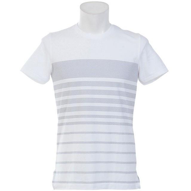 (セール)UNDER ARMOUR(アンダーアーマー)メンズスポーツウェア 半袖機能Tシャツ UA SPORTSTYLE STRIPE TEE 1310571 100 メンズ 100