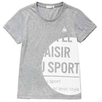 (セール)le coq sportif(ルコックスポルティフ) レディーススポーツウェア Tシャツ 半袖シャツ QMWLJA14 レディース MGR